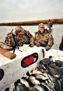 guided hunts by boat