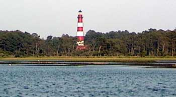 Lighthouse View From Assateague Channel